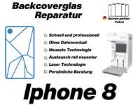 iPhone 8 Backcover Reparatur Rückseite Glas ✔️PROFESSIONEL✔️24H EXPRESS✔️