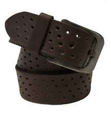Men's Genuine Leather-American Hide Belt w/ Non-Reflective Matte Finished Buckle