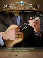 Jazz Chord Solos for Tenor Ukulele Tab Uke Sheet Music 10 Song Book Online Audio