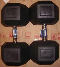 CAP Rubber Hex Dumbbells  2 X 115 - KDA Fitness, LLC