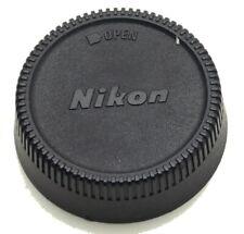 Vintage Genuine Nikon LF-1 Twist on Rear Lens Cap Made in Japan Used