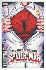 PETER PARKER: THE SPECTACULAR SPIDER-MAN #1 - ADAM KUBERT ART & COVER - 2017