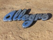 Classic Austin Allegro Badge Genuine BL 1970s Wall Art
