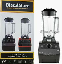 "New-2200W-BlendMore 6000-3Hp Blender Bpa-free 2L(64 oz)-w/ ""Vitamix Cookbook"""