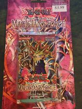 Yugioh Magicians Force Sealed Blister Pack English Outer Packaging Damage.