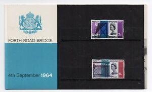 GB 1964 Forth Road Bridge Presentation Pack VGC stamps