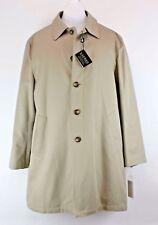 Lauren Ralph Lauren Sz XL NWT $250 Tan Cotton Duck Zip Out Liner Coat M900