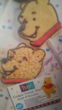 Wilton WinnieThe Pooh Bear Cookie Mini Treat Cake Pan Mold Insert 2105-8108 New