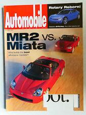 Automobile Magazine 1/2000 mit Bentley Arnage Red Label, Toyota MR 2 vs Miata