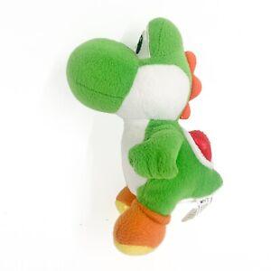 Super Mario Nintendo Plush Green Yoshi Plush Soft Stuffed Toy 20CM VGC Tracked