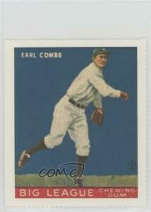 1977 Dover Classic Baseball Cards Reprints Earle Combs (1933 Goudey) HOF