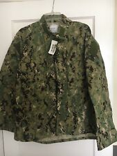 US NAVY BLOUSE NWU TYPE III / AOR2 - MEDIUM SHORT - SEAL / NSW - NEW WITH TAG
