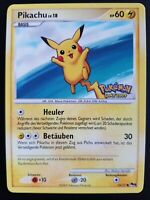 Pikachu 15/17 Stamped - Promo Day 2009 Germany - Series 9 Promo Deutsch Mint