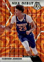 2019-20 Panini Mosaic Retroactive Orange 265 Cameron Johnson RC Rookie NBA Debut