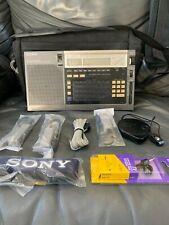 Vintage Sony Icf-2010 Short Wave Radio Air Fm Lw Mw Sw Pll Synthesized Receiver