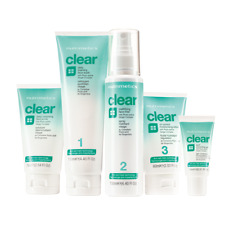 Nutrimetics Clear 5 Piece Set Blemish Prone Acne Skin brand new RRP $160