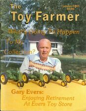 1989 The Toy Farmer Magazine: October - Gary Evers Retrement at Evers Toy Store