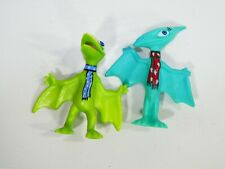 Dinosaur Train Winter Friends 2 Pack Figures Tiny Rare