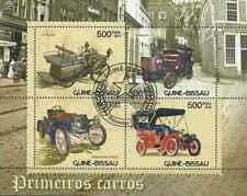 Timbres Voitures Guinée Bissau 4542/5 o année 2012 lot 24270 - cote : 11 €