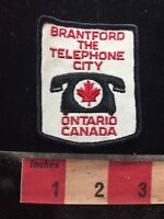 Brantford Canada THE TELEPHONE CITY Patch - Phone / Telecommunications C77N