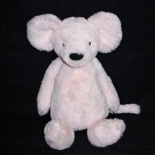 "New listing 12"" Jellycat Medium Bashful Pink Mouse Plush Stuffed Animal Lovey Toy"