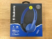 Skullcandy STIM On-Ear Headphones Blue - NEW & SEALED