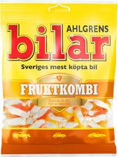 Ahlgrens Bilar Fruktkombi - 1 pack - 125g -  Fruit mix, Swedish Candy