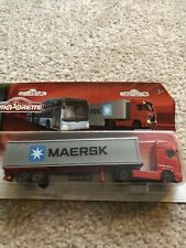 Majorette  - Mercedes  Actros Trailer Truck - - Trailer Series