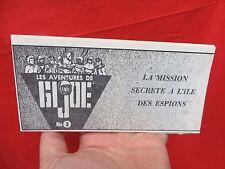 JOEZETA 1964 VINTAGE GI JOE :1969 SECRET MISSION SPY ISLAND CANADA: B&W COMIC