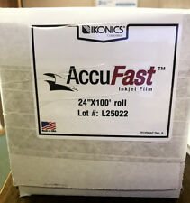 "Chromaline AccuFast 24"" x 100' Roll Inkjet Film"