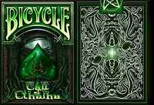 Bicycle Call of Cthulhu Ultra Rare Limited Edition Playing Cards (green) -SEALED