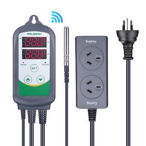 AU Plug Inkbird ITC308 Wifi Digital Thermostat Wired Temperature Controller 220V