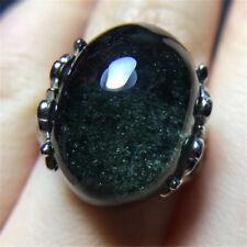 Rare natural green ghost cornucopia crystal ring holiday gift 18110839