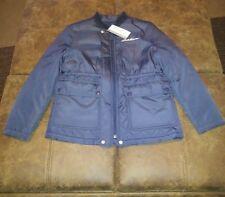 Eddie Bauer Girls Navy Jacket Size 10/12