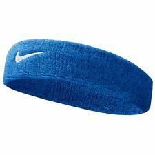 Nike Swoosh Headband Gym Tennis Training Sports Sweatband Royal Blue