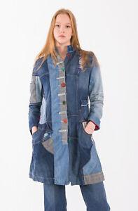 DESIGUAL Women's Coat Size 42 EU RRP: 249 EUR