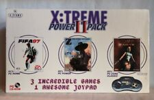 X:Treme Power Pack II - 3 VideoGames + joystick - PC - anni 90