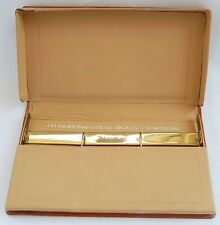 Tom Dawson & Co Metal Brokers Bradford Leather Case / Wallet / Sample Holder