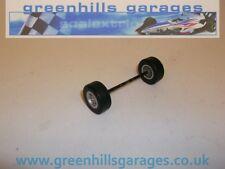 Greenhills Scalextric Dallara IRL con Neumáticos Eje Delantero-Usado-P1178