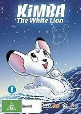 Kimba The White Lion Volume 1 - DVD ss Region 4 Good Condition (Disc 1 Only)