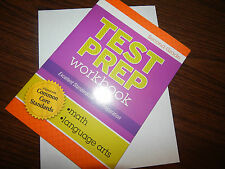 2nd 2 TEST PREP WORKBOOK math language arts HOMESCHOOLING common core CLEVER CO