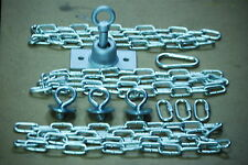 "Swing set,tire swivel,Play set,tire kit,ZP 61"" chains,ZP eyebolts & res swivel"