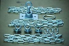 Swing set,tire swivel, Play set, tire kit, zinc plated eyebolts, 54'' zp chain