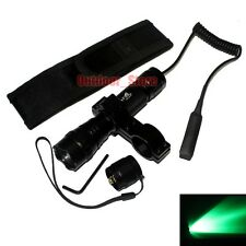 UltraFire 501B CREE Green light LED 1Mode Tactical Flashlight Mount Holster Set