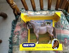 NEW BREYER Brookside Pink Magnum #1482 bouncer mold red roan pony CUTE! [--]