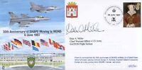 CC30b 1997 SHAPE BFPS 2548 signed RAF flown cover