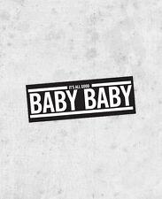 "The Notorious B.I.G. Sticker - ""juicy"" sticker! biggie smalls, jay-z, puff daddy"