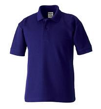 Polo Hombre Manga Corta Camiseta Polo 215g/M ²XS-2xl Mezcla De Algodón 14 FARBEN
