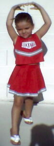 Ohio State BUCKEYES Infant Todder Girl Cheerleader Dress 12m 18m 24m 2T 3T 4T NW