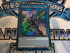 Yu-Gi-Oh! DEKODIER-SPRECHER! LINK MONSTER ! ULTRA RARE ! DEUTSCH YS17-DE041